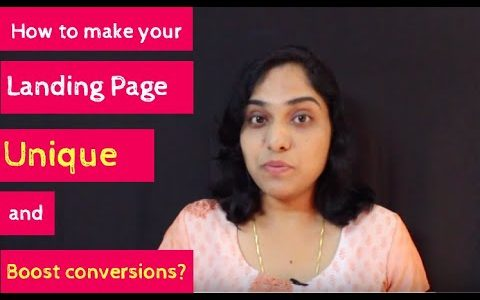 How to make your landing page unique and boost conversions?