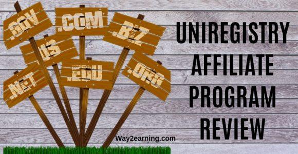 Uniregistry Affiliate Program Review