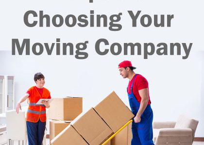 5 Tips for Choosing Your Moving Company