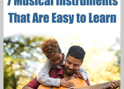 7 Musical Instruments That Are Easy to Learn