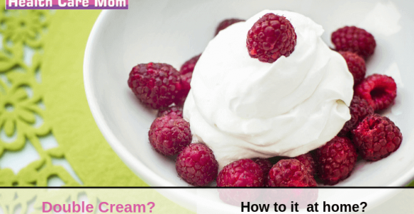 how to make double cream from heavy cream