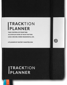 TRACKTION Planner – A Productivity Planner by FASTER TO MASTER