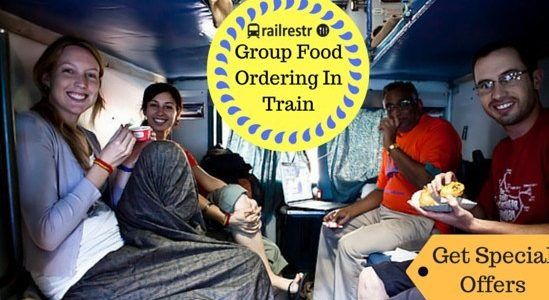 How to Save Big on Food in Trains While Traveling in Groups