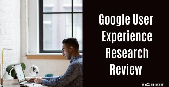 Google User Experience Research : Earn Gift Cards Worth $75