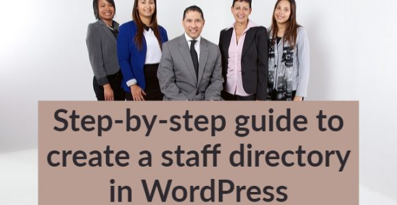 Step-by-step guide to create a staff directory in WordPress
