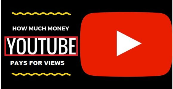 How much YouTube pay for 1 million views.