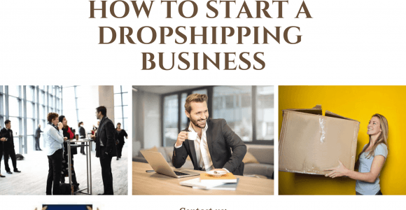 how to start a drop-shipping business today without paying anything