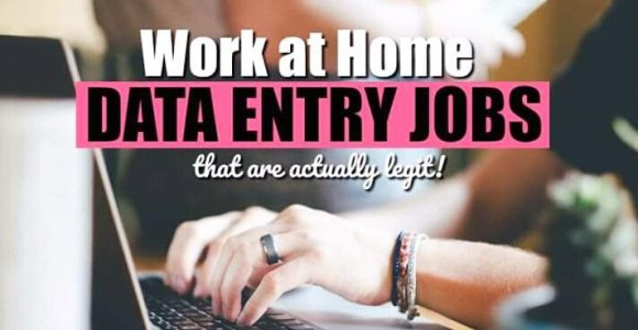 top work from home data entry job that are paying in 2019