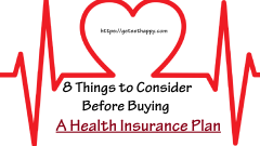 8 Things to Consider Before Buying a Health Insurance Plan – Get Set Happy