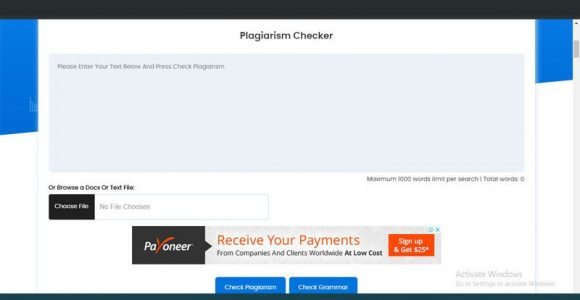 Use Free, Powerful Plagiarism Check Software to save yourself from embarrassment