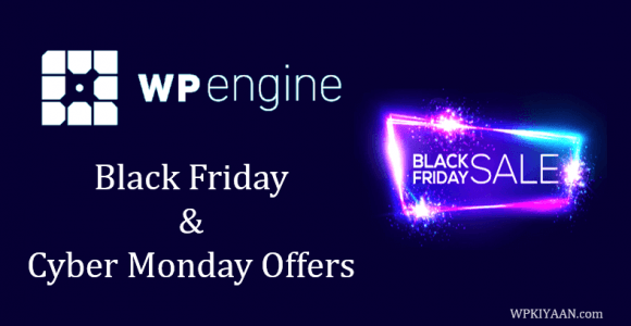WP Engine Black Friday Deal 2019 [Get Flat 35% Discount]