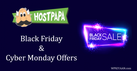 HostPapa Black Friday Deal 2019 [Get Hosting in Just $1/month]