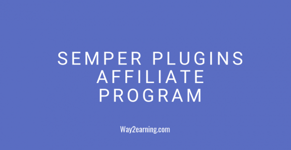 Semper Plugins Affiliate Program (2019) : Join And Earn Cash