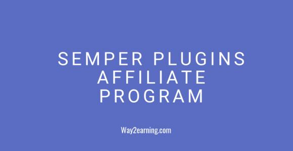 Semper Plugins Affiliate Program (2019) : Join And Earn Cash