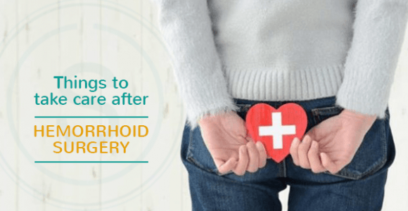 Things you must take care of after hemorrhoid surgery | SMILES Bangalore