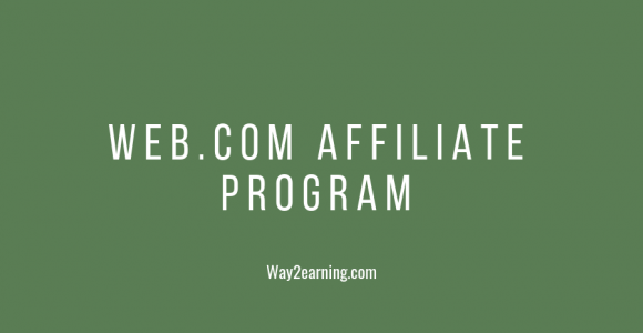 Web.com Affiliate Program (2019) : Join, Promote And Earn