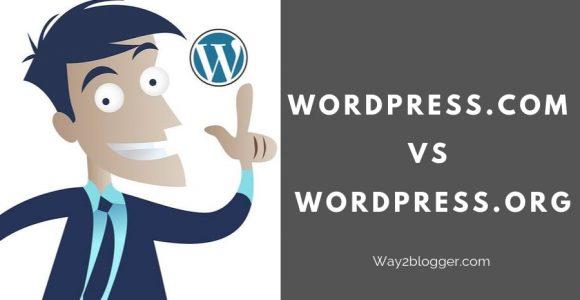 WordPress.com VS WordPress.org : Which Is The Best? (2020)