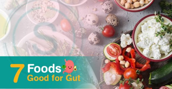 7 Foods that are good for your gut
