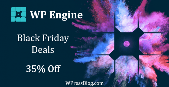WP Engine Black Friday Deal 2019 [Free Hosting for 5 Months]