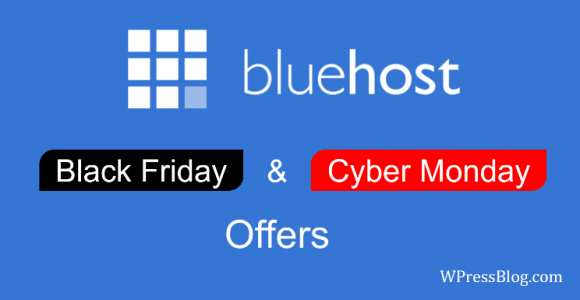 Bluehost Black Friday Deals 2019 ⇒ Get Flat 70% Discount