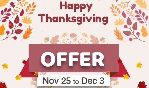 Orangescrum Thanksgiving Sale is Here