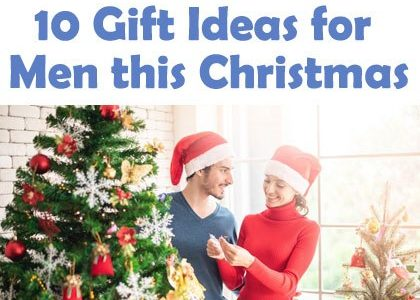10 Gift Ideas for Men This Christmas