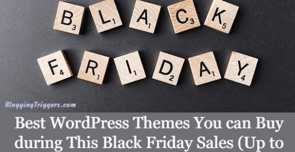 Best WordPress Themes You can Buy during This Black Friday Sales (Up to 75% Off)