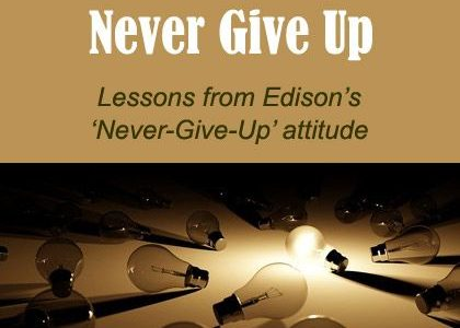 6 Hacks to Help You Never Give Up