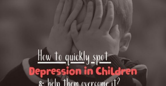 How to quickly spot depression in children and help them overcome it?
