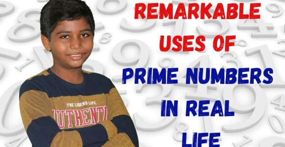 Impressive Uses of Prime Numbers in real life