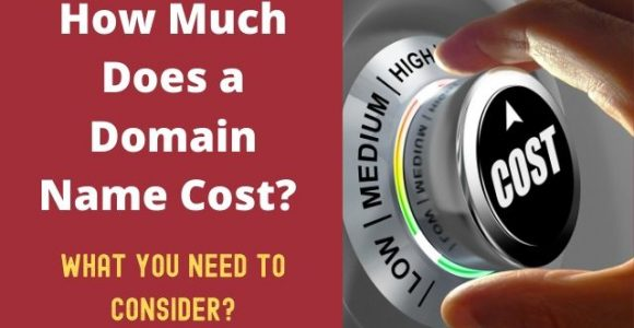 How Much Does a Domain Name Cost? And what you need to consider?