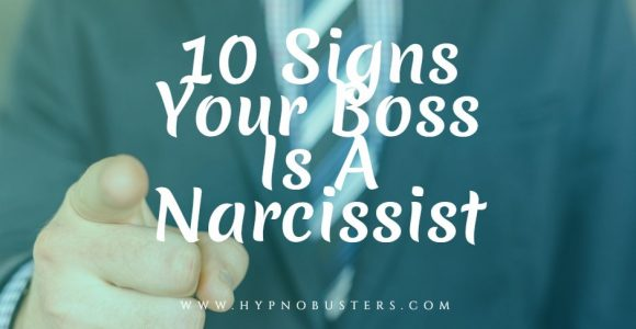 10 Signs Your Boss Is A Narcissist FREE GUIDE!!