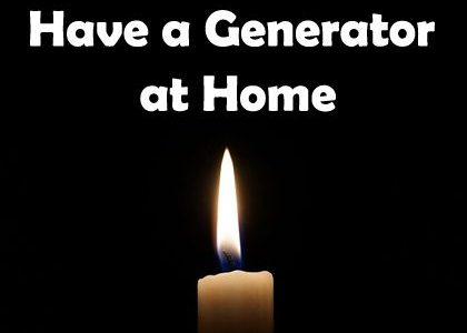 7 Reasons to Have a Generator at Home