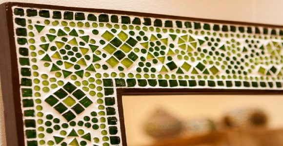 Mosaic mirror – the most captivating focal point of your space