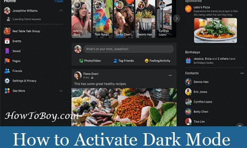 How to Activate Facebook Dark Mode – Desktop, Android, and iPhone