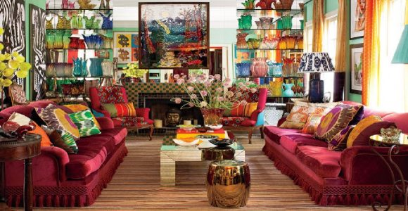 The elusive and powerful charm of maximal Interior Design