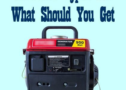 Generator Types and What Should You Get