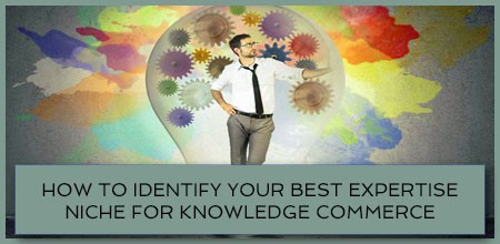 How To Identify Your Best Expertise Niche For Knowledge Commerce