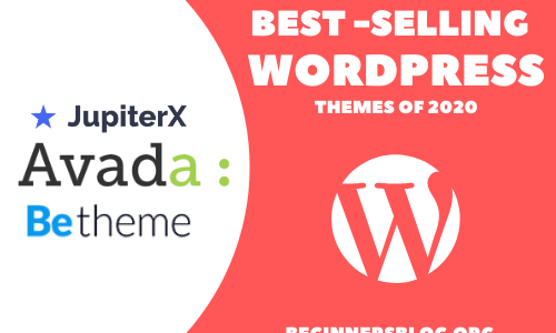 6 Best Most Popular WordPress Themes Of 2020