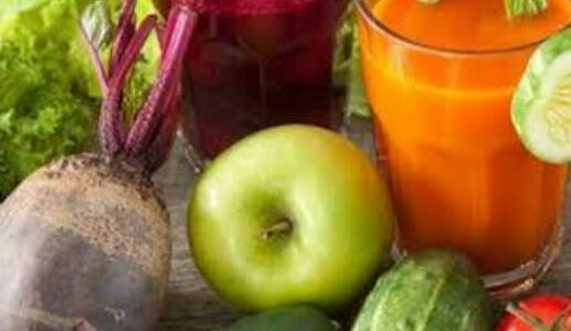 How do juices help your skin get better?