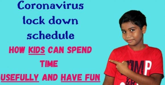 Coronavirus lockdown schedule for kids: Activities for kids during lockdown