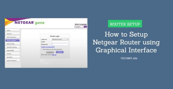 Netgear Router Setup – 192.168.0.1