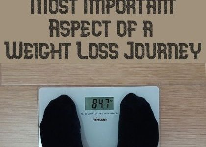 Know the Most Important Aspect of a Weight Loss Journey