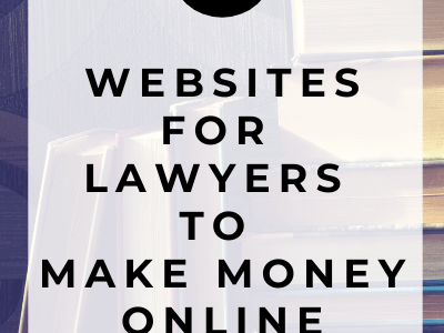 6 Ways for Lawyers and Legal Experts to Make Money Online
