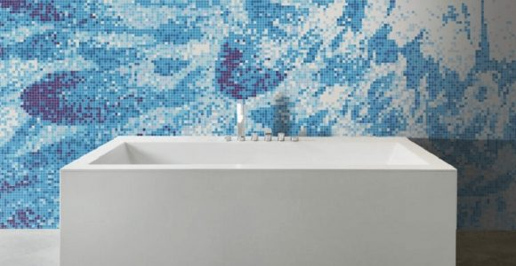 Bathroom Mosaics Inspired by The Natural World