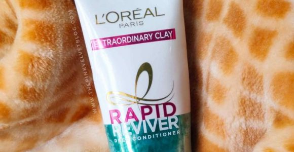 L'Oreal Rapid Reviver Deep Conditioner Extraordinary Clay Review
