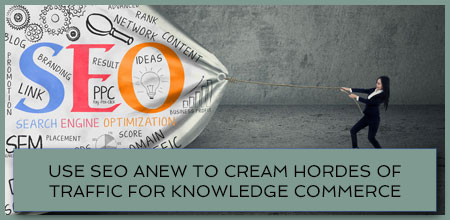 Use SEO Anew To Cream Hordes Of Traffic For Knowledge Commerce