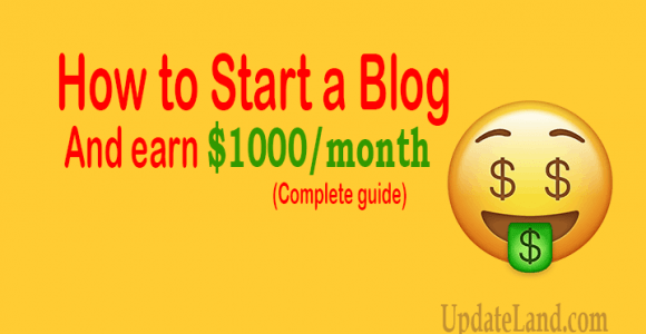 How to Start a Blog in 2020 that Makes $1000 a Month [Complete Guide]