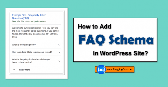 How to add FAQ Schema in WordPress in 2020? (4 Basic Steps)