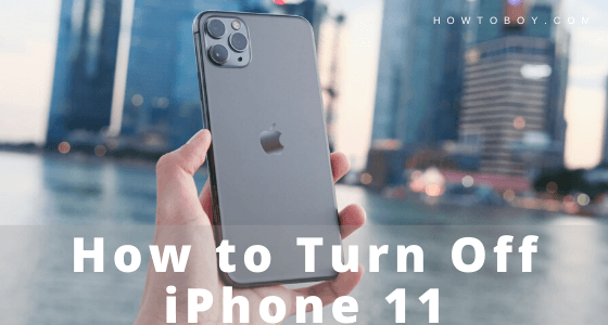 How to Turn Off iPhone 11, iPhone 11 Pro, and iPhone 11 Pro Max